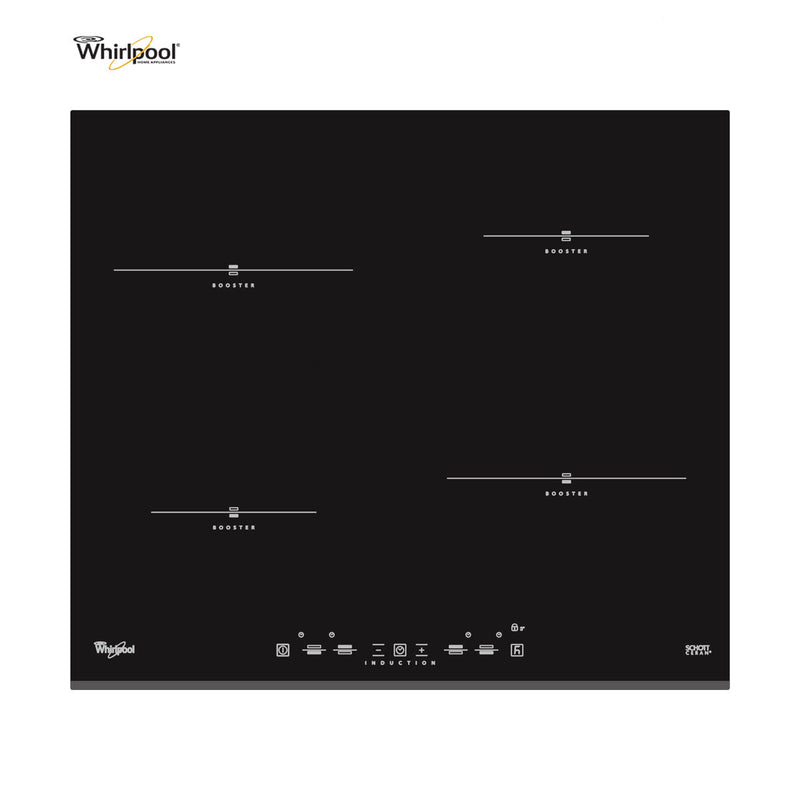 Whirlpool ACM 750/NE Built-in Induction Kitchen Hob Black Glass New!!!