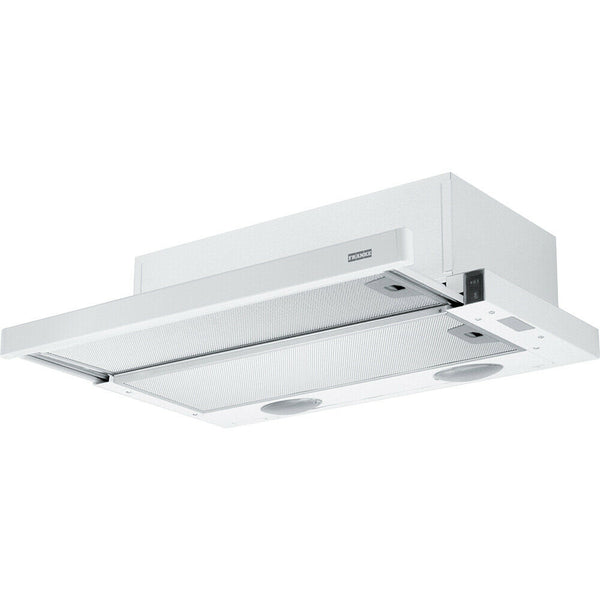 FRANKE FTC 6032 WH 60cm White Stainless Steel Built-In COOKER HOOD