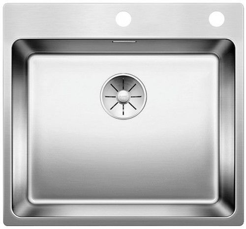 BLANCO ANDANO 500-IF/A InFino system + automatic strainer Stainless steel Sink