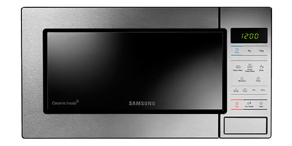 Samsung ME83M Stainless steel Kitchen Microwave 23L ,800W