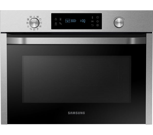 SAMSUNG NQ50J3530BS- Compact Oven with Grill 50L, Steam-cleaning