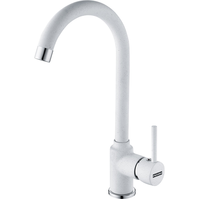 Franke Pola White Kitchen Tap Single Lever