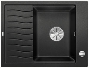 BLANCO ELON 45 S- 524814 Silgranit Anthracite Kitchen Sink- Inset