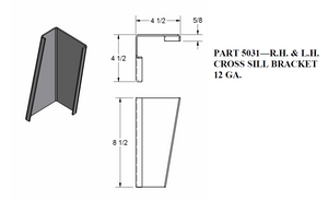 Cross Sill Bracket