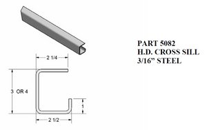 Heavy Duty Cross Sill
