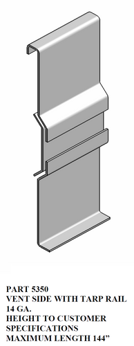 Vent Side w/ Tarp Rail
