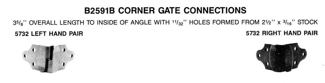 Corner Gate Connections