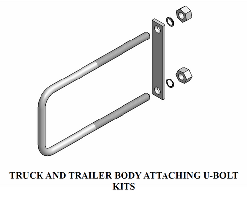 Truck and Trailer Body Attaching U-Bolt Kits