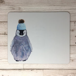Baby Penguin in Hat Placemat
