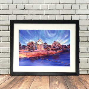 Bolton Abbey North Yorkshire Framed print