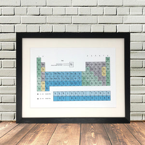 Bristolian Periodic Table Dialect Print Lighthouse Lane