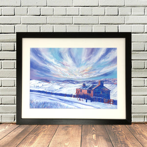 Bronte Waterfalls Haworth Print