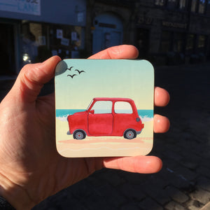 Mini Car Summer Coaster
