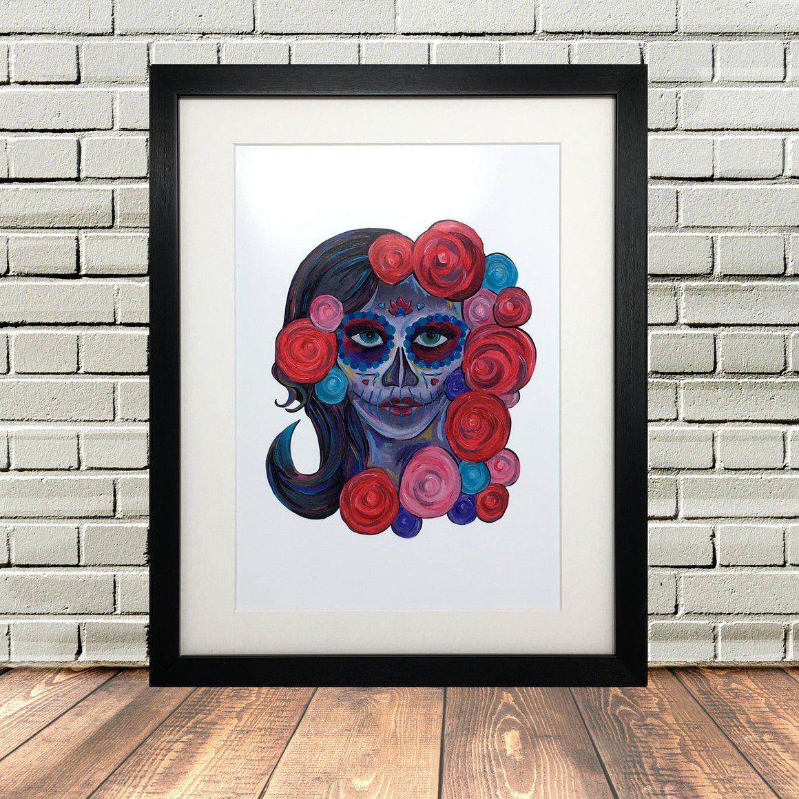 Day Of The Dead Painting Print