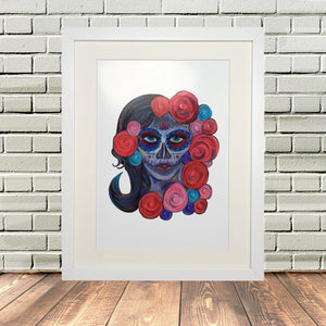 Day of the Dead Sugar Skull Print