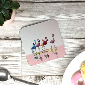 Flamingos Coaster