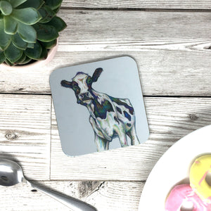 Frisian Cow Painting Coaster