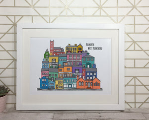 Haworth Shops Print