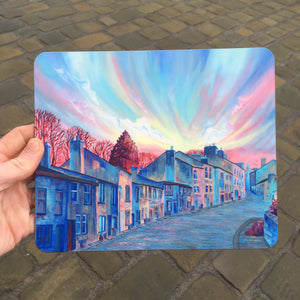 Haworth Winter Up Street Placemat