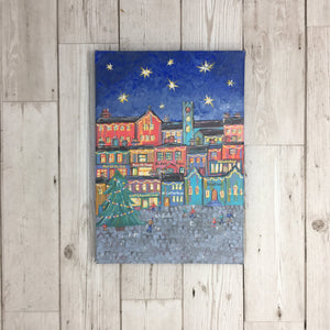 Haworth Christmas Painting Original Artwork