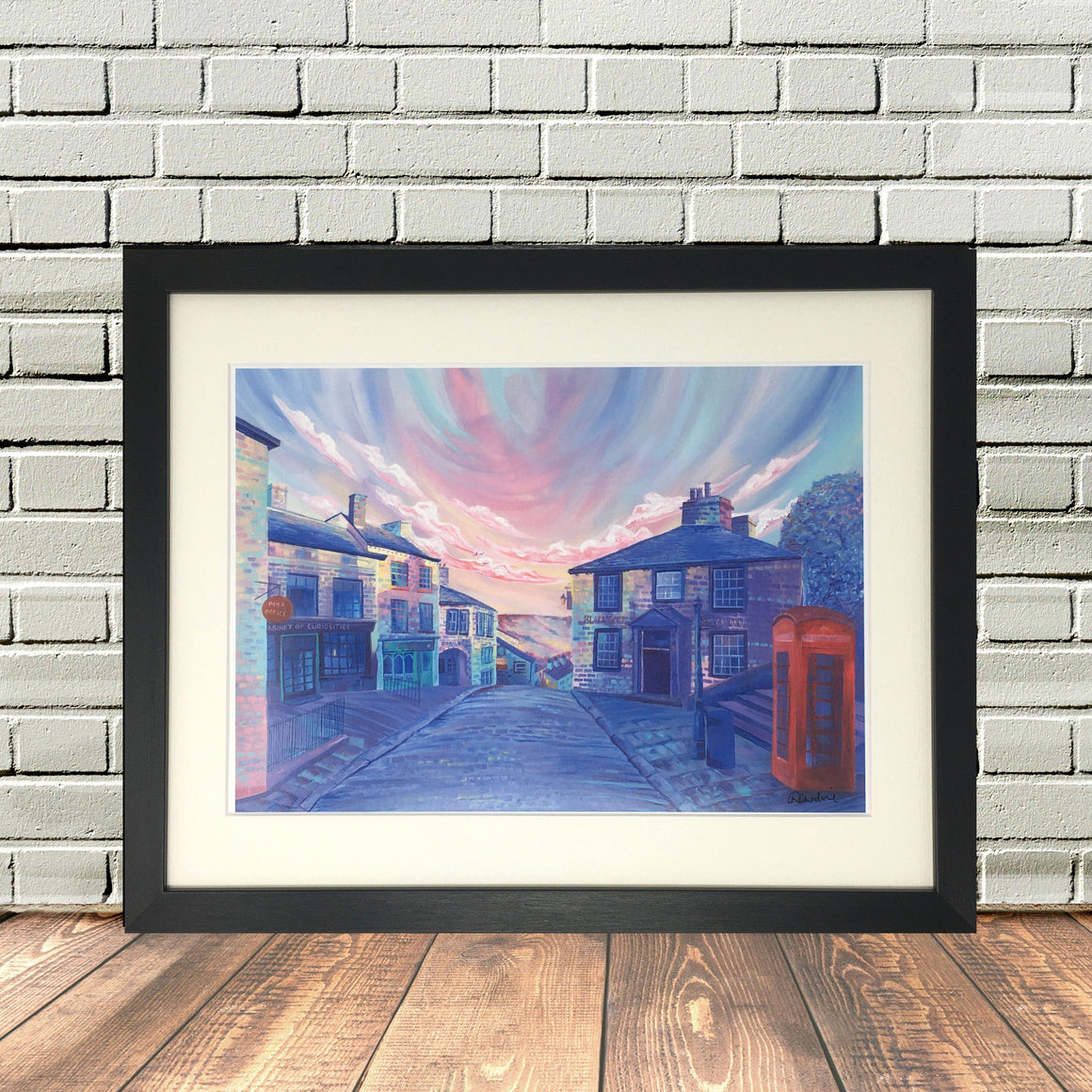 Haworth Brow Main Street Print