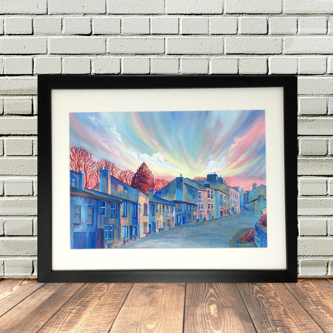Haworth Main Street Picture Art