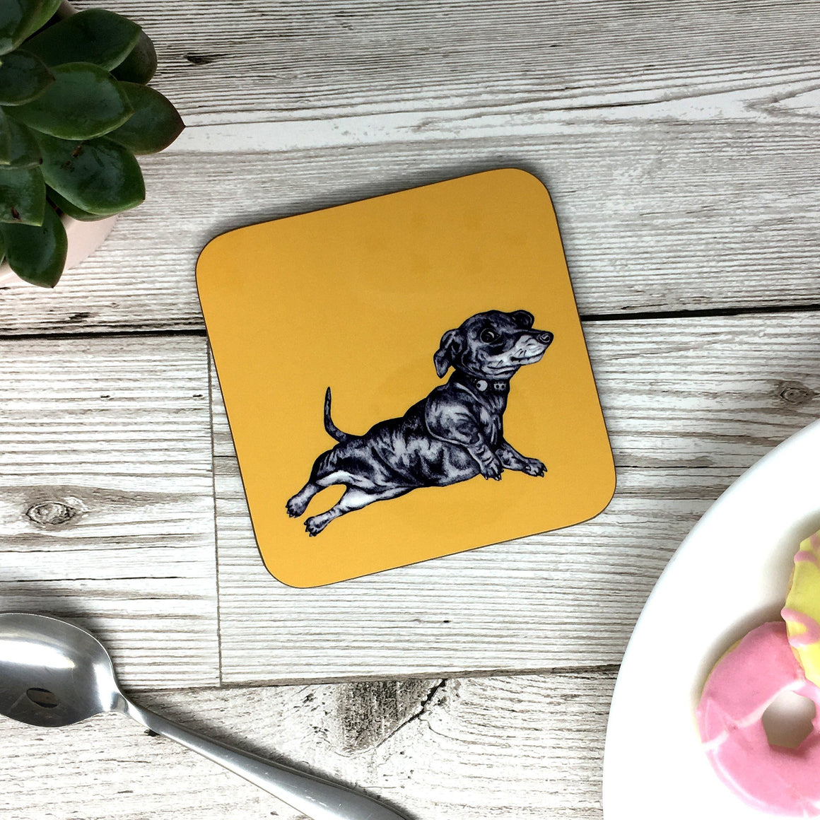 Sausage Dog Coaster