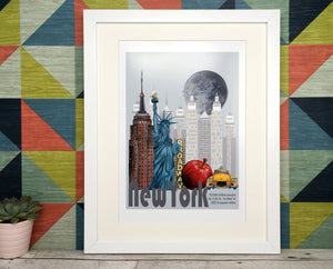 New York USA Print