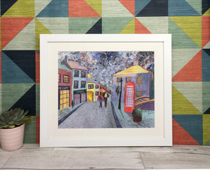 Haworth Rainy Days Framed print