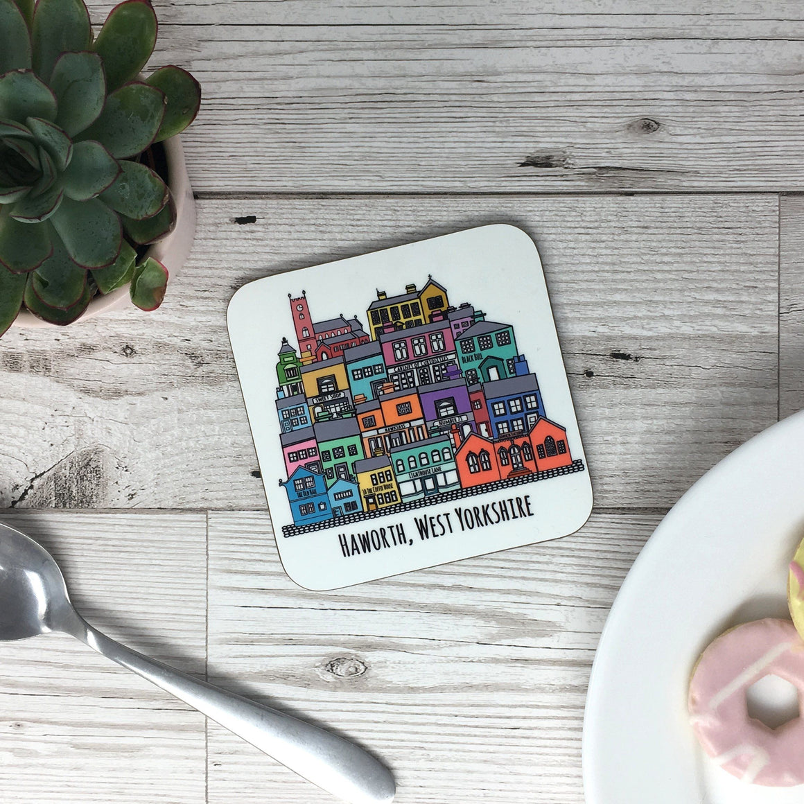 Haworth Places Coaster