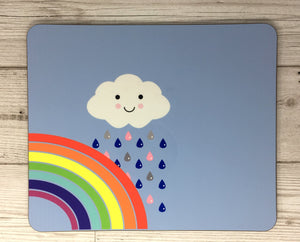 Rainbow Kawaii Placemat