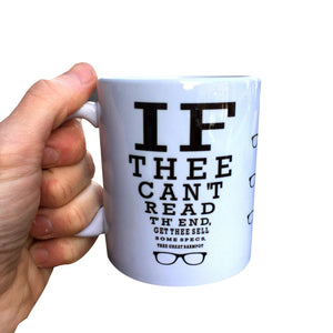 Lancashire Optician Eyetest Mug