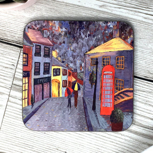 Haworth Rainy Main Street, Coaster