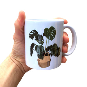 Monstera Digital Mug