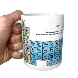 Lancashire Funny Mug Periodic Table