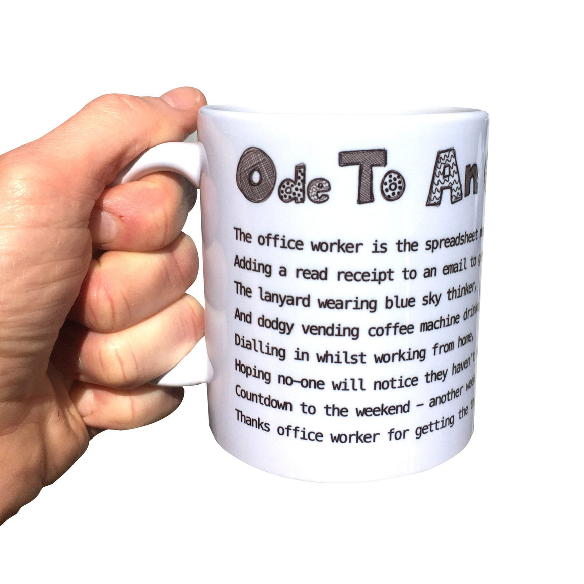 Funny Office Worker Mug