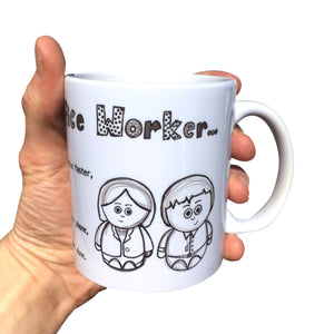 Office Worker Funny Mug