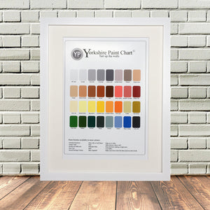 Funny Yorkshire Paint Colour Chatt Print