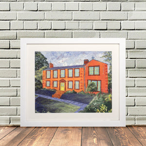Haworth Yorkshire 'Haworth Print Bronte Parsonage'