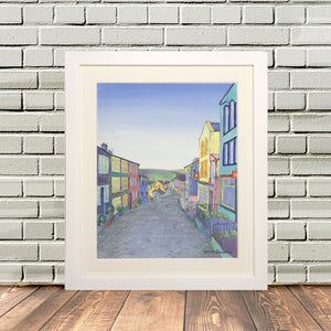 Haworth Yorkshire Painting Print