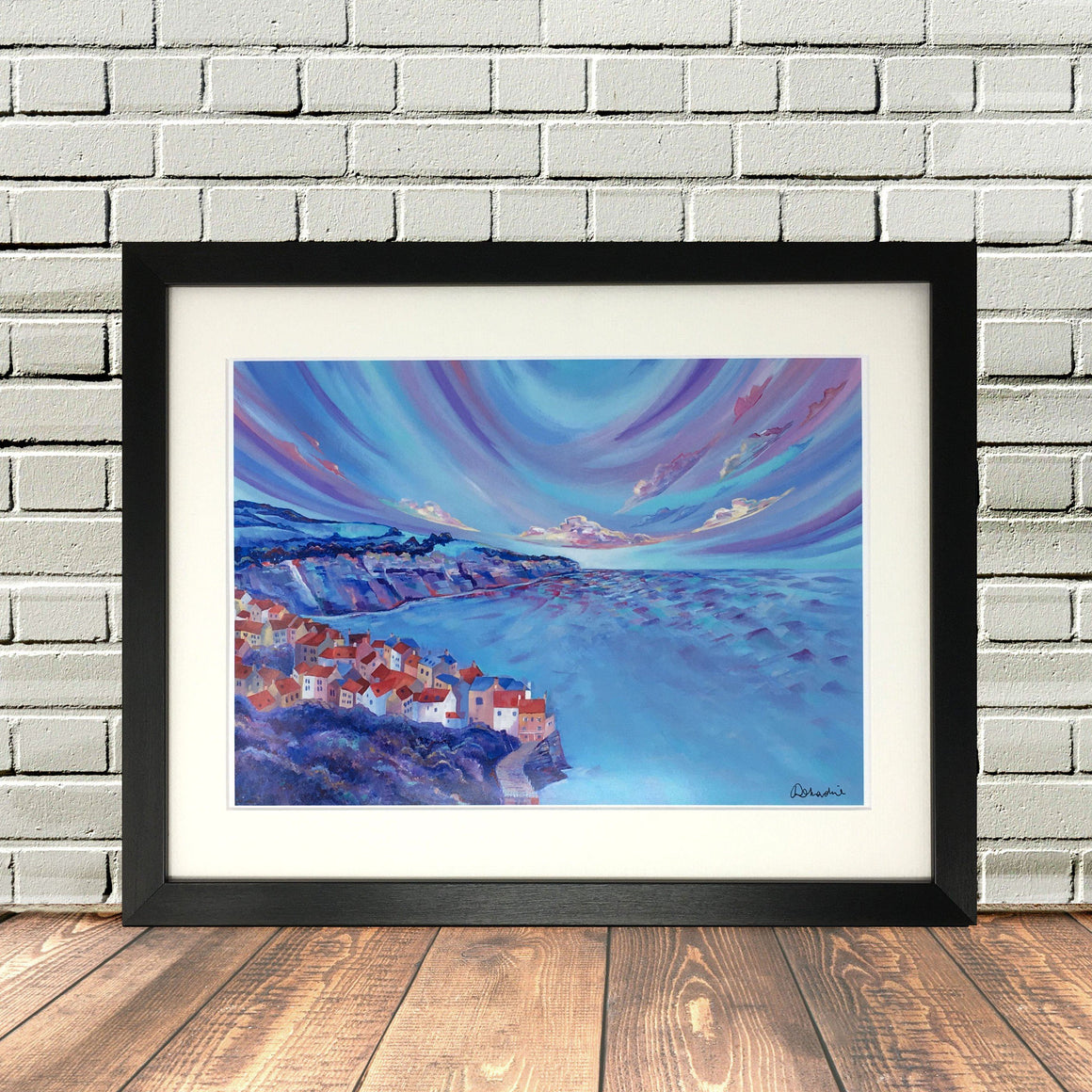 Robin Hoods Bay North Yorkshire Print