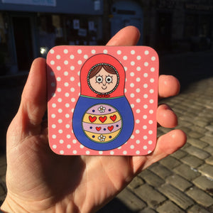 Russian Doll Matryoshka Doll Coaster
