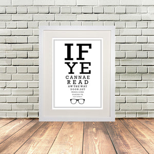 Funny Scottish Print