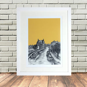 Skipton North Yorkshire Print