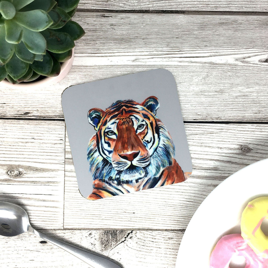 Painted Tiger Mug (Can be personalised)