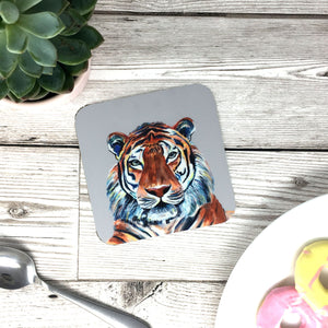 Tiger Painting Coaster