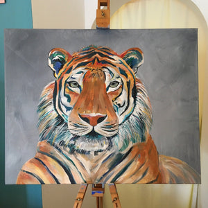 Colourful Tiger Print