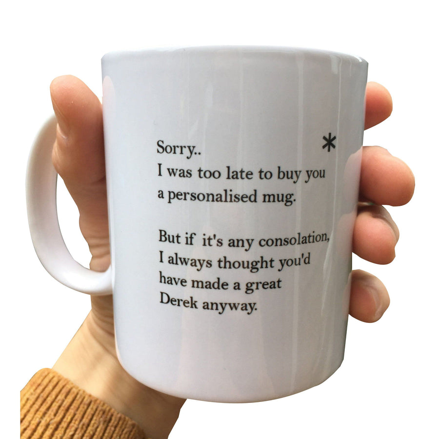 Unpersonalised Funny Mug