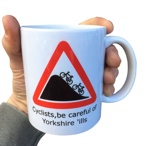 Yorkshire Cycling Bike Mug