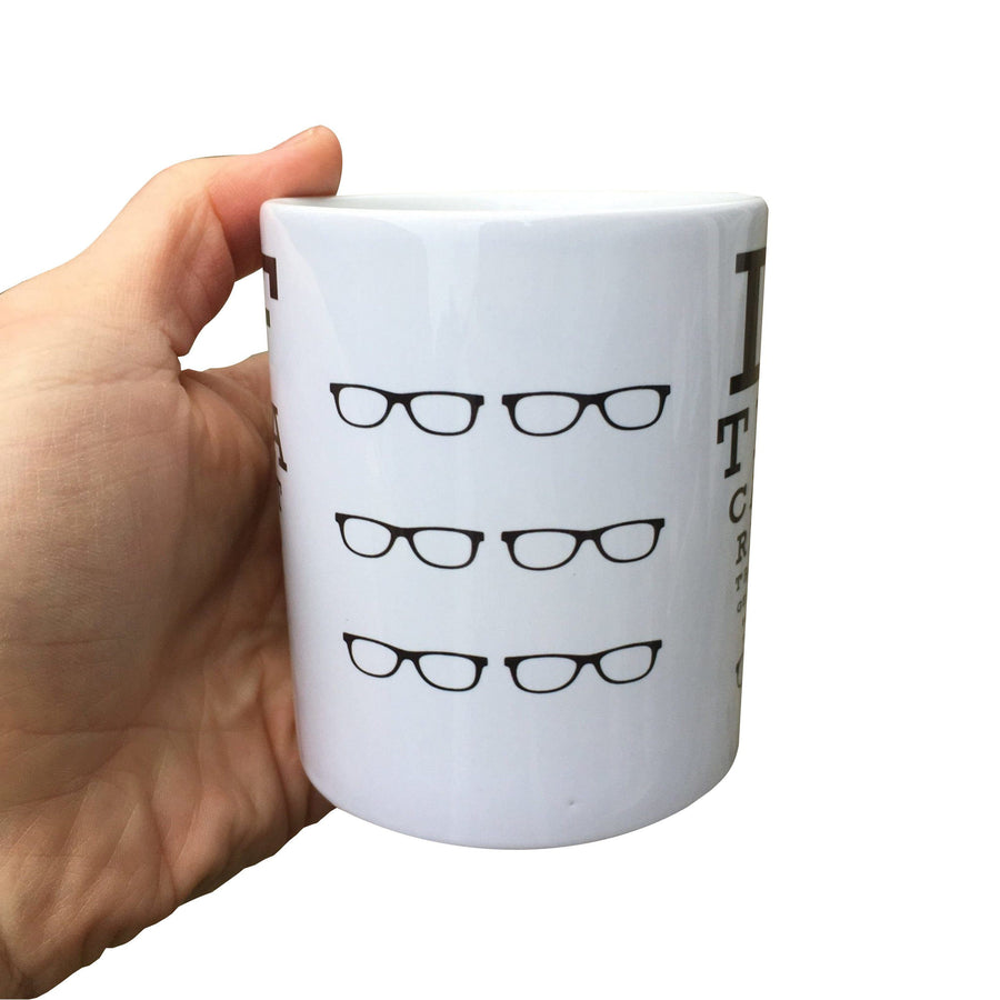 Yorkshire Eyetest Optician Mug